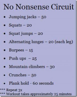 10 Circuit Training Workouts