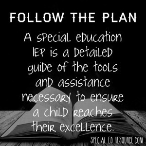 In Special Education, An IEP Is The Baseline For Services As an ...