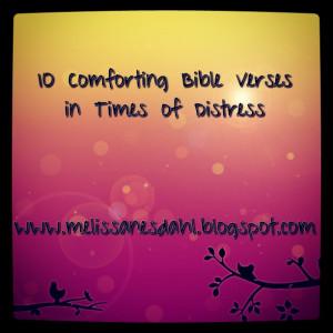 Bible Scripture For Comfort