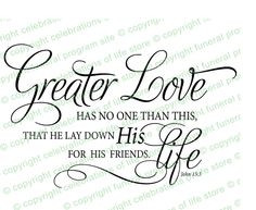 ... verse great for a funeral or memorial for patriotic or military. More
