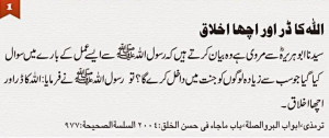 Labels: Islamic Quotes and Sayings in urdu