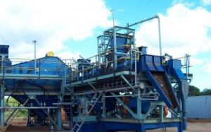 modular 10 tonne per hour dense media separation bulk sampling plant ...
