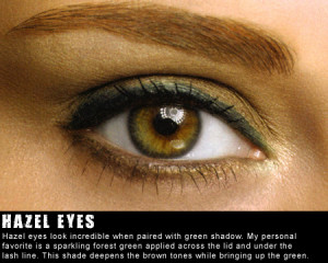 green hazel eye quotes