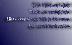 One Rainy Day - Godsmack Song Lyric Quote in Text Image