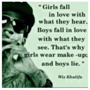 Why Girls Wear Makeup & Boys Lie