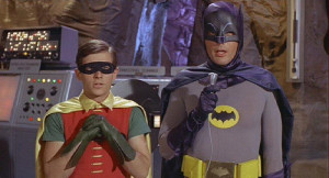 ... Batman lecturing Robin quotes taken from the classic Batman and Robin
