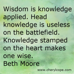 Wisdom Quotes and Scriptures