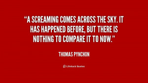 Quotes by Thomas Pynchon