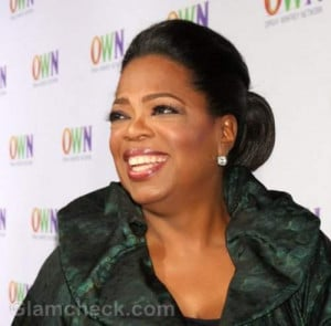 ... show host Oprah Winfrey as the highest paid celebrity in the world