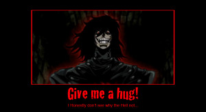 Alucard Hellsing Abridged Quotes Motivational poster alucard by