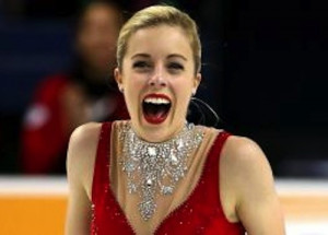 Ashley Wagner Ice Skater