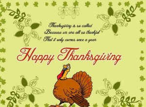 Thanksgiving Day Quotes and Sayings