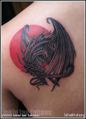 Medieval Tattoo Dragon Ptaxdyndnsorg Picture