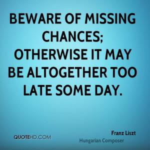 Franz Liszt Quotes