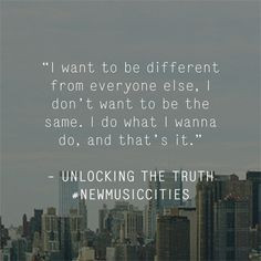 Unlocking The Truth quote discussing heavy metal taken from Dazed x ...