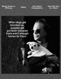 Sometimes when a man's alone, that's all you've got is your dog ...