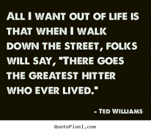 Quotes by Ted Williams