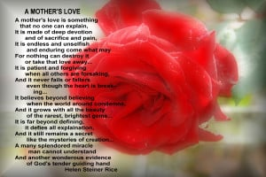 Mesmerizing Mothers Day Poems Cards Design Ideas