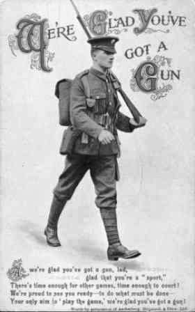 GLAD YOU'VE GOT A GUN