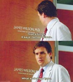 ... James Wilson. What a strange typo.