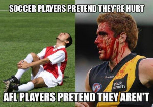 ... australian football aussie rules football is not a sport it s just