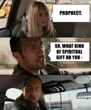 Prophecy as a spiritual gift?
