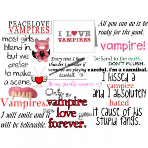 vampire quotes - Polyvore