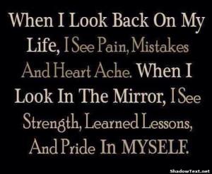 Pride in Myself