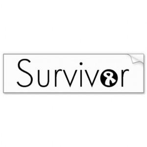 Brain Tumor Survivor Stickers