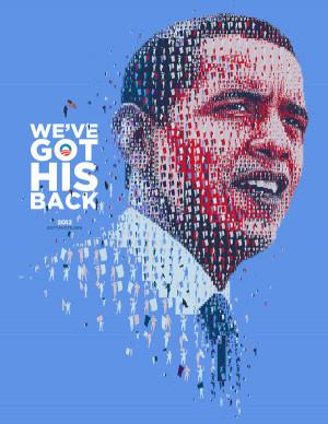 obama 2012 president campaign hopeful because of you barack obama ...