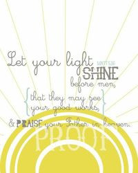 let your light shine quotes