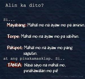 Tagalog Patama Quotes Sa Kaaway