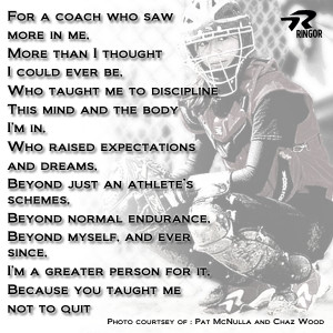 Fastpitch Softball Coach Quotes
