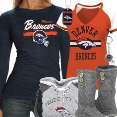 Cute Denver Broncos Fan Gear