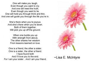 best friend sister poems best friend sister poems