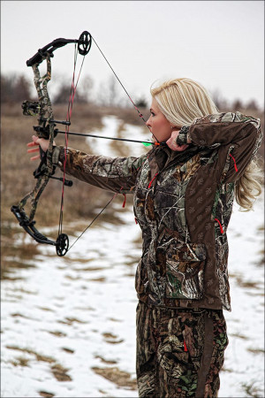 Miss Kansas Theresa Vail is an accomplished hunter who hopes to ...