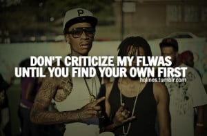 hqlines, quotes, sayings, wiz khalifa