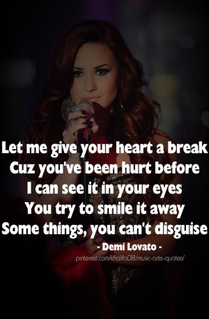 Back > Quotes For > Self Harm Quotes Demi Lovato