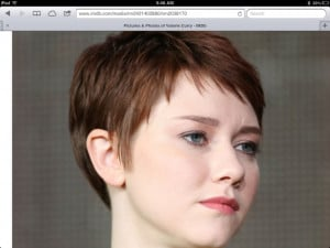 Valorie Curry Short hair - with a better look at the color I'll prolly ...