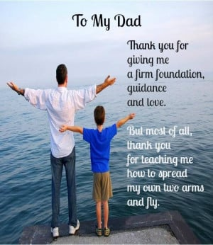 Father's Day Message from Son to Father