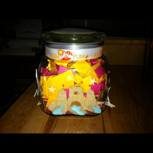 favorite gift. Quote jar from my best friend with 365 days of quotes ...