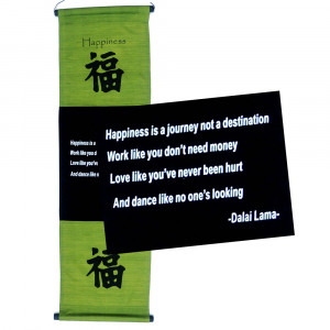 Inspirational Banners - Happiness, Dalai Lama - $29.97