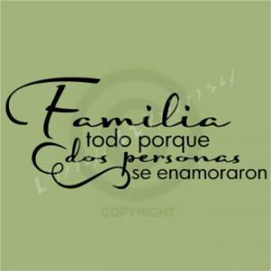 Family Quotes Spanish Pics