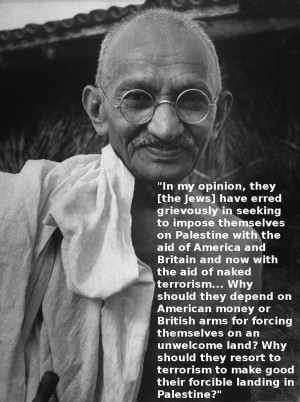 Mahatma Gandhi Rejected Zionism by Professor A. K. Ramakrishnan