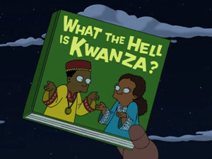 The traditional Kwanzaa gift.