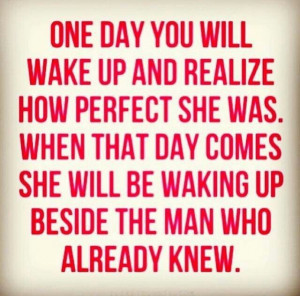 Dont take a woman for granted