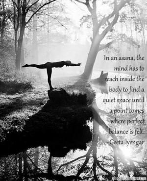 Asana yoga picture quote