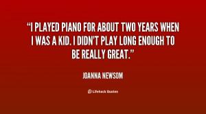 Quote Joanna Newsom Played