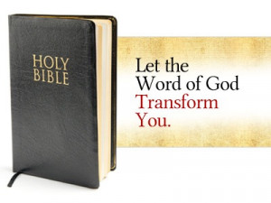 Scripture: Let The Word Transform You