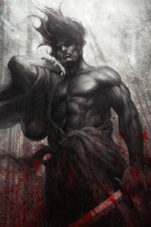 60+ Epic Samurai Artwork w/ Inspirational Miyamoto Musashi Quotes